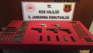 Rize'de Silah Ticaretine Yönelik Operasyon
