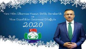 Vali Kemal Çeber'in Yeni Yıl Mesajı
