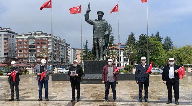 DİSK, CHP, KESK, EMEP ve Sol Parti 1 Mayısı Kutladı