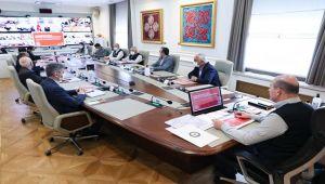 Bakan Soylu, Karadeniz Valileri ile toplantı yaptı