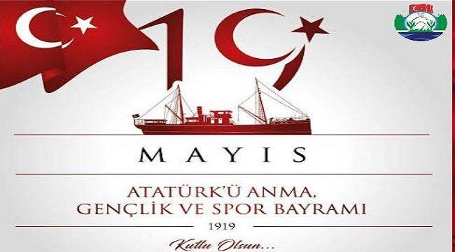 Vali Çeber'in 19 Mayıs Mesajı