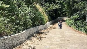 Köy Yolları Afetten Parapet Duvarlarla Korunacak