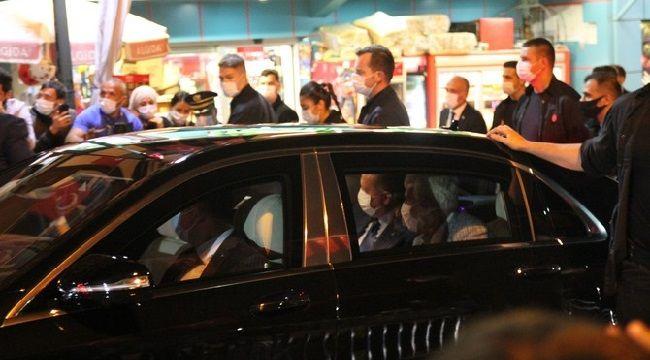 Cumhurbaşkanı Erdoğan Rize'ye Geldi