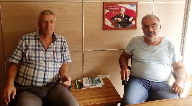 Necip Vardal'dan Gazetemize Ziyaret!