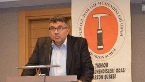 TMMOB Jeoloji Mühendisleri Odası Trabzon Şube Yönetim KuruluBasına ve Kamuoyuna Açıklama Yaptı