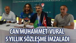 Can Muhammet Vural Çaykur Rizespor' da