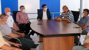Kaymakam Terzi ve Başkan Basa Pazarspor'u Ziyaret Etti