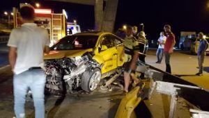 Pazar'da Trafik kazası