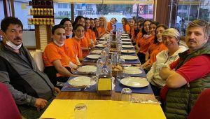 Başkan Mustafa Atar'dan, Kutlama Yemeği