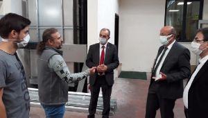 CHP Organize Bölgesini Ziyaret Etti