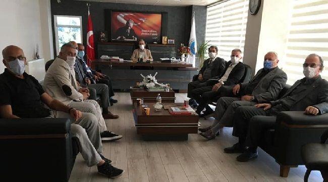 CHP Pazar ilçesinde Kurumları Ziyaret Etti
