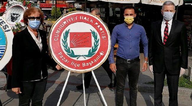 Pazar CHP'den Cumhuriyet Bayramı Kutlaması