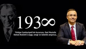 Rize Valisi Kemal Çeber'in 10 Kasım Mesajı