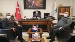 RTEÜ Rektörü Karaman Pazar'da