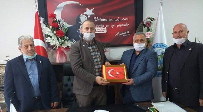 Türkiye Muhtarlar Konfederasyonu Genel Başkanı Aktürk'ten Rimufed Başkanı Maşalacı'ya Ziyaret