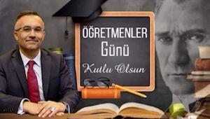 Vali Çeber'den 24 Kasım Öğretmenler Gününü Mesajı