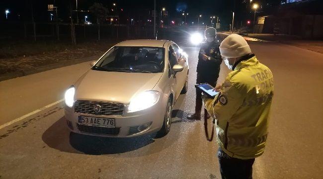 Rize'de Sokağa Çıkma Kısıtlaması Devam Ediyor