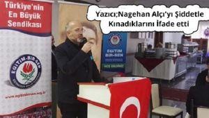 Başkan Sefer Yazıcı'dan Nagehan Alçı'ya Tepki