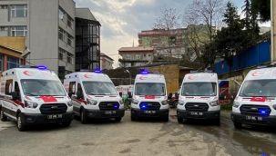 Rize'ye 5 Adet 4x4 Yeni Ambulans