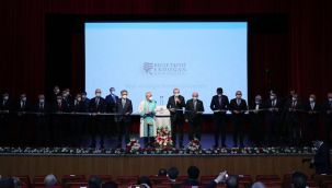 Cumhurbaşkanı Erdoğan, RTEÜ'de 2 Fakültenin Ek Binasının Açılışını Yaptı