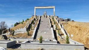 Pazar Şehitlik Anıtı Yapımında Sona Yaklaşıldı