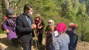 CHP Trabzon Milletvekili Ahmet Kaya İkizdere'de