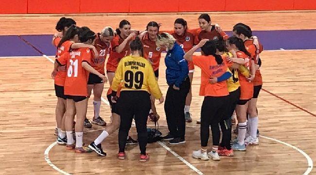 Olimpik Pazar Spor Kadın Hentbol Takımı Rakipsiz!