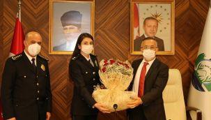 Vali Çeber'e 10 Nisan Polis Haftası Ziyaret