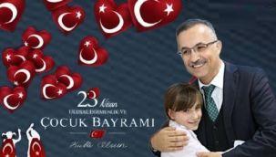 Vali Kemal Çeber 23 Nisan Mesajı