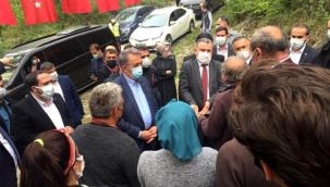 AK Partili Vekiller İkizdere'de Köylülerle Görüştü