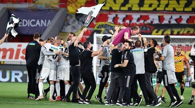 Süper Lig'de Şampiyon Beşiktaş