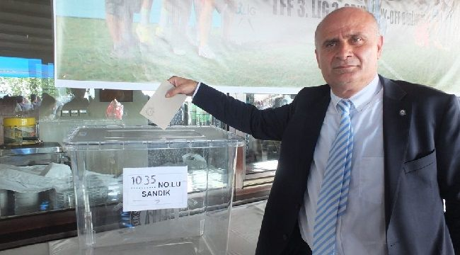 Başkan Mustafa Taşkın Güven Tazeledi