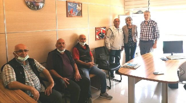 Emek Partisi'nden Gazetemize Ziyaret