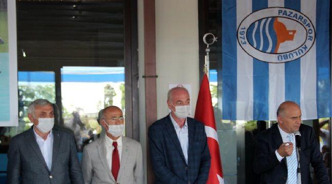 Pazarspor'un Yeni Yönetimi Görev Dağılımı Yaptı