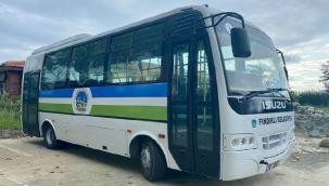Fındıklı Belediyesine Otobüs Hibe Edildi