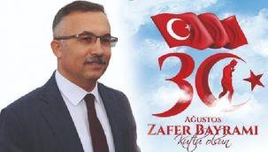 Vali Çeber'in 30 Ağustos Zafer Bayramı Mesajı