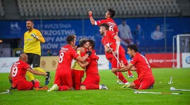 Ampute Futbol Milli Takımı, Avrupa şampiyonu