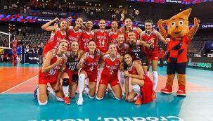 Filenin Sultanları Yarı finalde Sırbistan'a Kaybetti