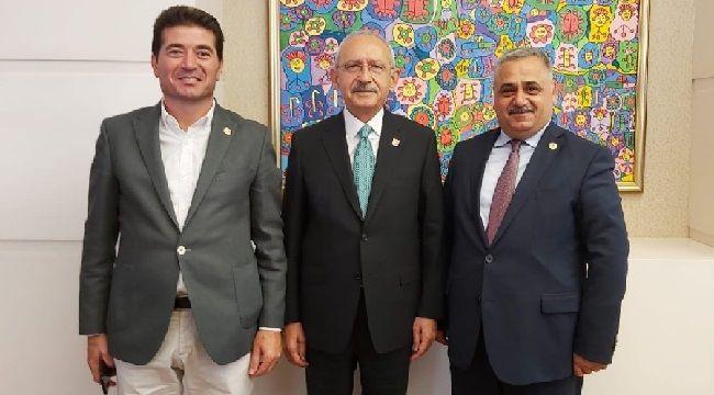 CHP'li Ahmet Kaya Muhtarlar Gününü Kutladı